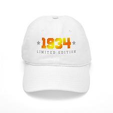 Limited Edition 1934 Birthday Baseball Cap