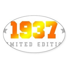 Limited Edition 1937 Birthday Decal