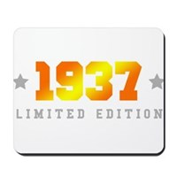Limited Edition 1937 Birthday Mousepad