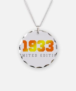 Limited Edition 1933 Birthday Necklace