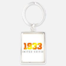 Limited Edition 1933 Birthday Keychains