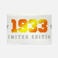 Limited Edition 1933 Birthday Magnets