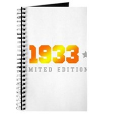 Limited Edition 1933 Birthday Journal