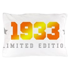 Limited Edition 1933 Birthday Pillow Case