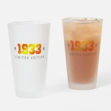 Limited Edition 1933 Birthday Drinking Glass