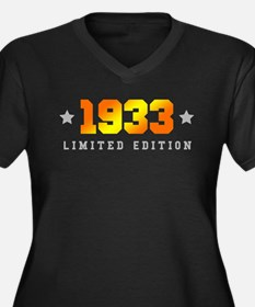 Limited Edition 1933 Birthday Plus Size T-Shirt