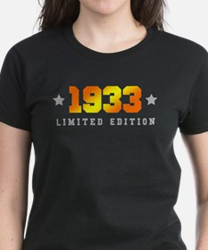 Limited Edition 1933 Birthday T-Shirt