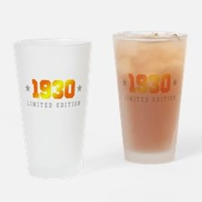 Limited Edition 1930 Birthday Drinking Glass