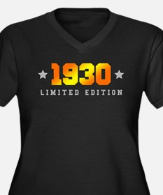Limited Edition 1930 Birthday Plus Size T-Shirt