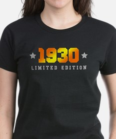 Limited Edition 1930 Birthday T-Shirt