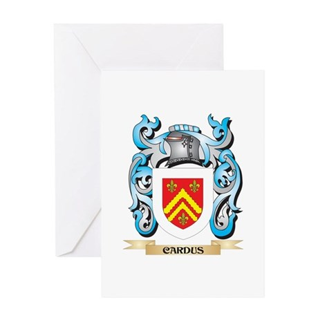 Cardus Coat of Arms - Family Crest Greeting Cards