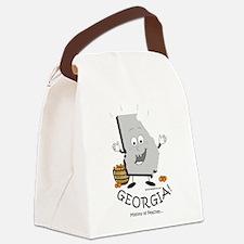 Cute Atlanta georgia Canvas Lunch Bag
