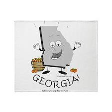Unique Atlanta georgia Throw Blanket