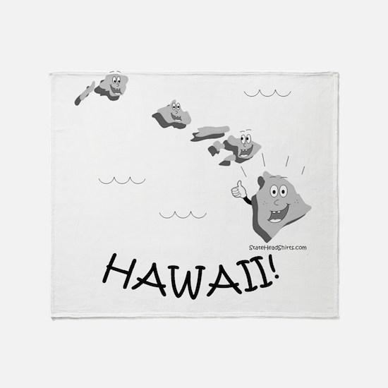 Unique Honolulu Throw Blanket