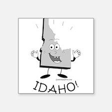 "Cute Boise state broncos Square Sticker 3"" x 3"""