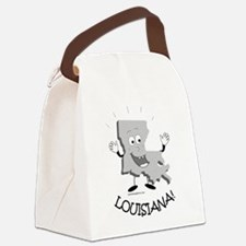 Louisiana.png Canvas Lunch Bag