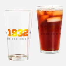 Limited Edition 1932 Birthday Drinking Glass