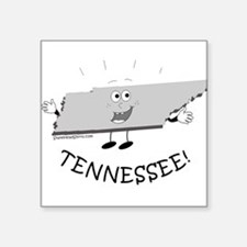 """Tennessee.png Square Sticker 3"""" x 3"""""""