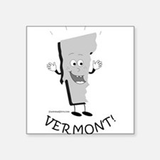 """Funny Funny geography Square Sticker 3"""" x 3"""""""