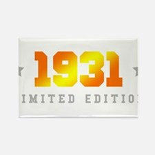 Limited Edition 1931 Birthday Magnets