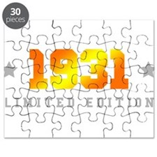 Limited Edition 1931 Birthday Puzzle
