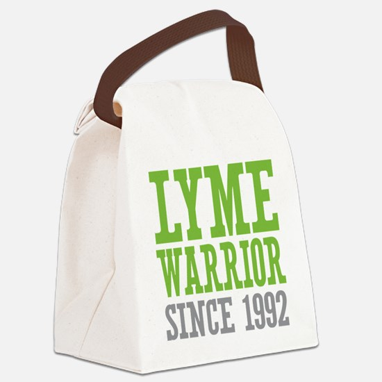 Lyme Warrior Since 1992 Canvas Lunch Bag