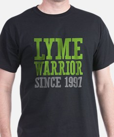 Lyme Warrior Since 1997 T-Shirt