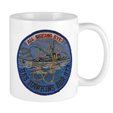 USS HAWKINS Mug