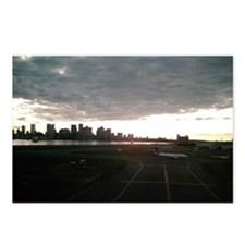 Boston Skyline from Airport Postcards (Package of
