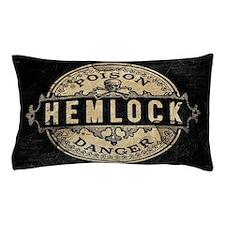 Vintage Style Hemlock Poison Pillow Case