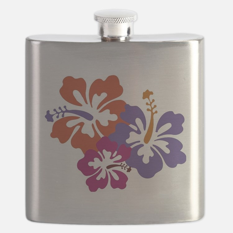 Hibiscus Bunch Flask