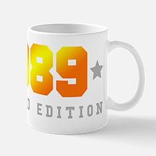 Limited Edition 1989 Birthday Shirt Mugs