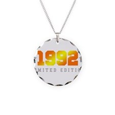 Limited Edition 1992 Birthday Shirt Necklace