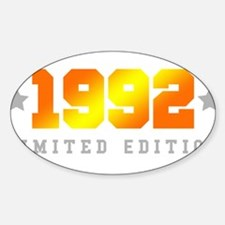 Limited Edition 1992 Birthday Shirt Decal