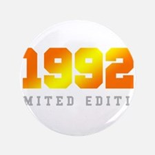 Limited Edition 1992 Birthday Shirt Button