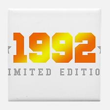 Limited Edition 1992 Birthday Shirt Tile Coaster