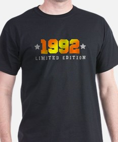 Limited Edition 1992 Birthday Shirt T-Shirt