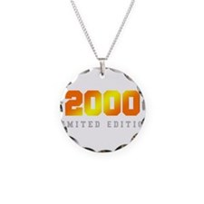 Limited Edition 2000 Birthday Shirt Necklace