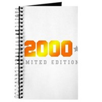 Limited Edition 2000 Birthday Shirt Journal