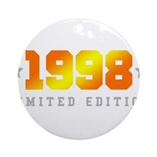 Limited Edition 1998 Birthday Shirt Round Ornament