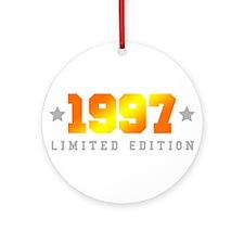 Limited Edition 1997 Birthday Shirt Round Ornament