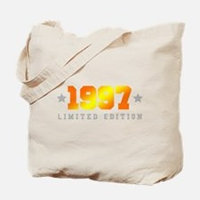 Limited Edition 1997 Birthday Shirt Tote Bag
