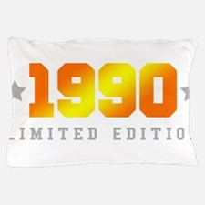 Limited Edition 1990 Birthday Shirt Pillow Case