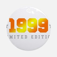 Limited Edition 1999 Birthday Shirt Round Ornament