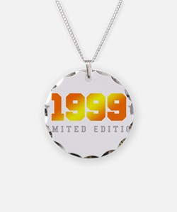 Limited Edition 1999 Birthday Shirt Necklace