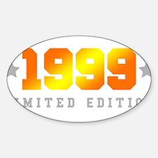 Limited Edition 1999 Birthday Shirt Decal