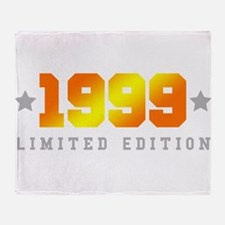 Limited Edition 1999 Birthday Shirt Throw Blanket