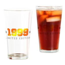 Limited Edition 1999 Birthday Shirt Drinking Glass