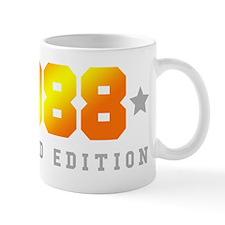 Limited Edition 1988 Birthday Shirt Mugs