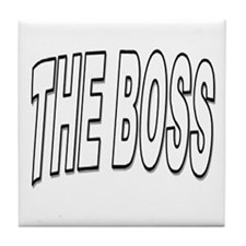 Funny Boss Tile Coaster